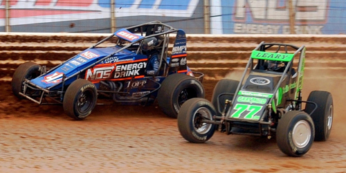 Leary Puts Ford back in USAC Victory Lane with BAPS Score